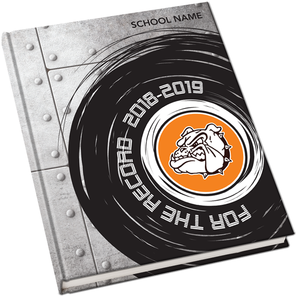 2018 2019 yearbook covers for the record