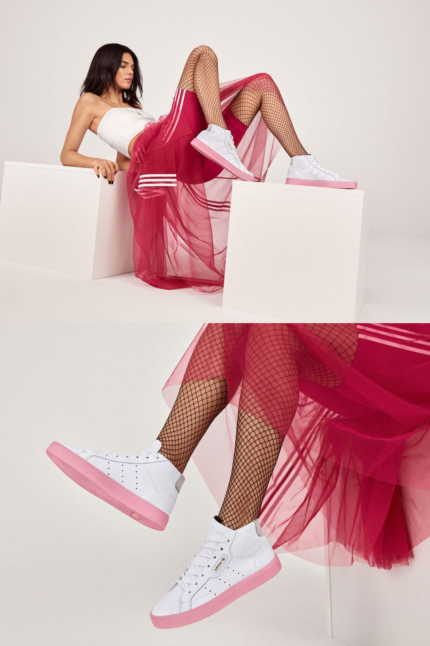 Kendall Jenner Stars in adidas' New Sleek Lookbook
