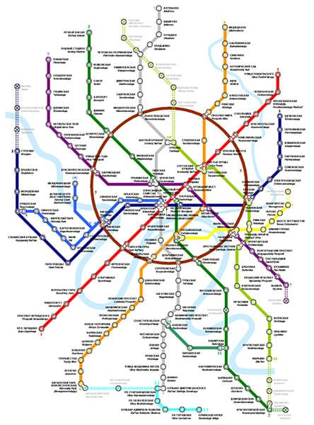 Tips For Using The Moscow Metro Moscow Metro Metro Map Moscow