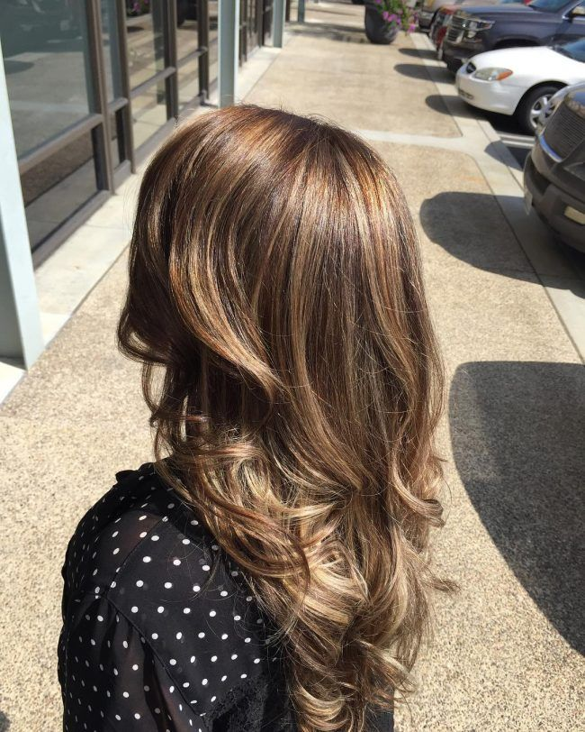 California Blonde Highlights Brown Blonde Hair Pinterest