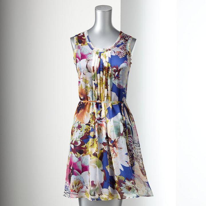 Vera Wang Chiffon Dress for Kohl's