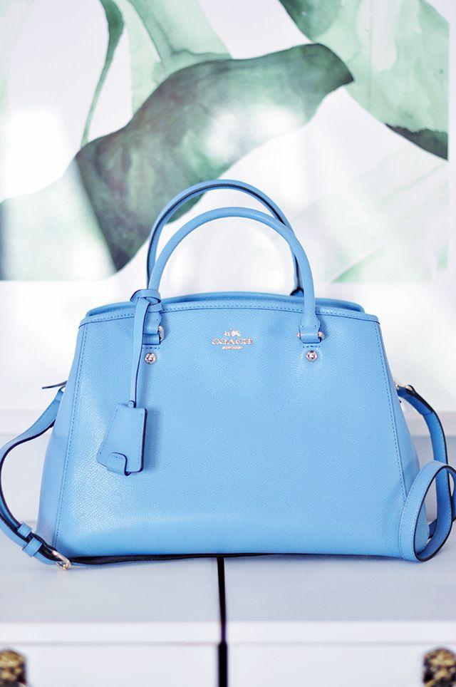 Pantone Blue Coach Bag Spring 2016 Coach Bags 2015 Bags Bags