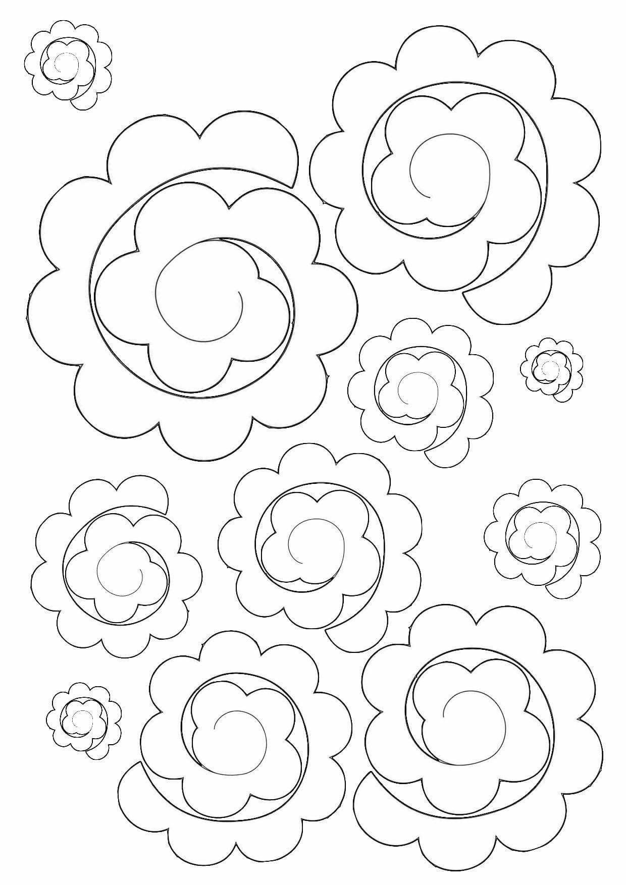 #feltflowertemplate #feltflowertemplate #