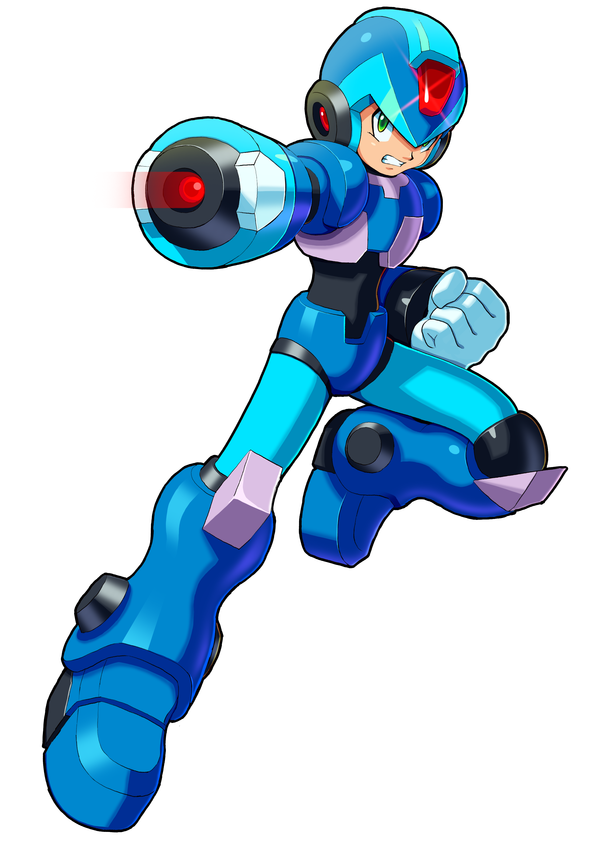 Mega Man  Charge Man Letter