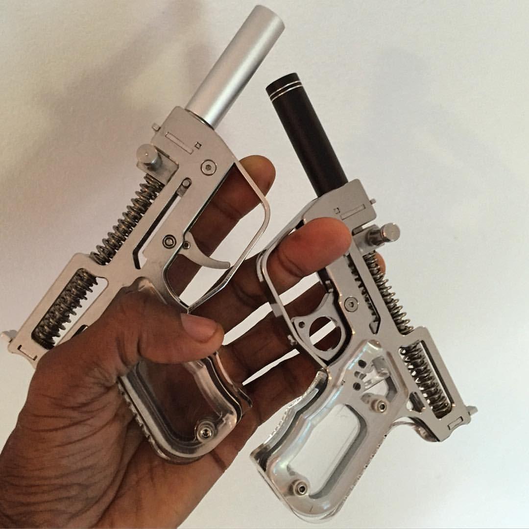 P4 (Primer Powered Pellet Pistol) •  22 &  25 Pellet