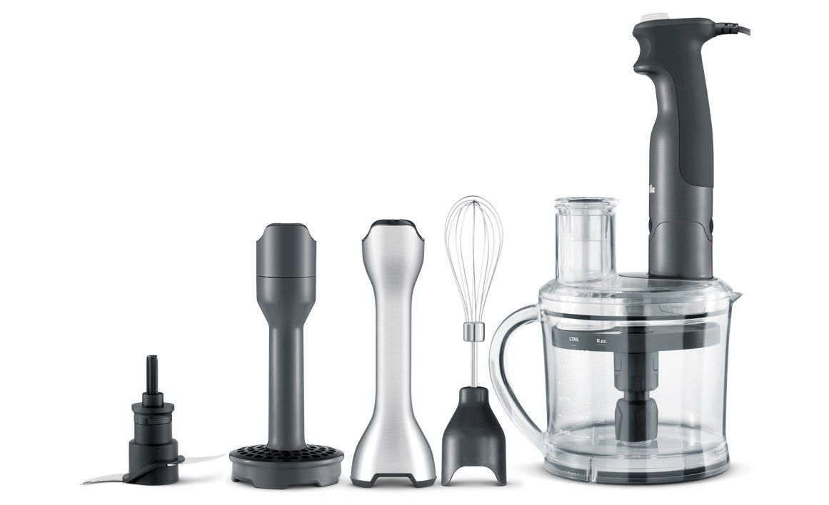 the All In One to chop, slice, mash, blend, immerse, whisk