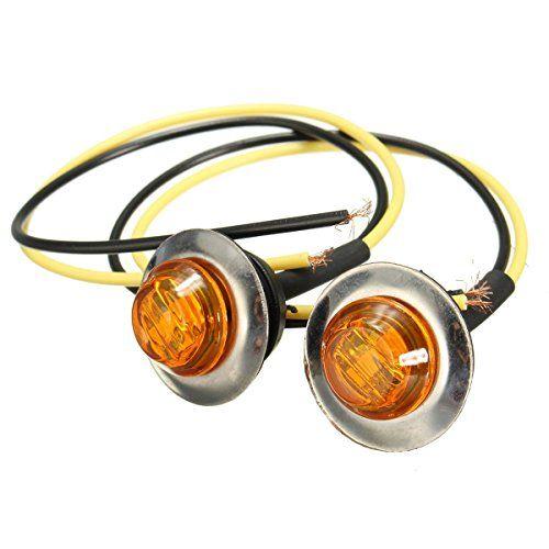 Awesome AUDEW XV LED Auto Standlichtlampen Standlicht Seitenleuchten Beleuchtung Seitenmarkierungsleuchte Kontrollleuchte Blinker Kennzeichenbeleuchtung LKW