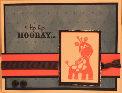 CTMH 1st Birthday Card