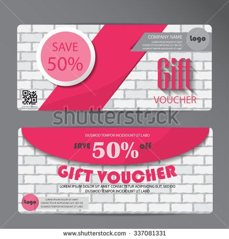 Gift voucher certificate coupon template can be use for business gift voucher certificate coupon template can be use for business shopping card customer sale flashek Gallery