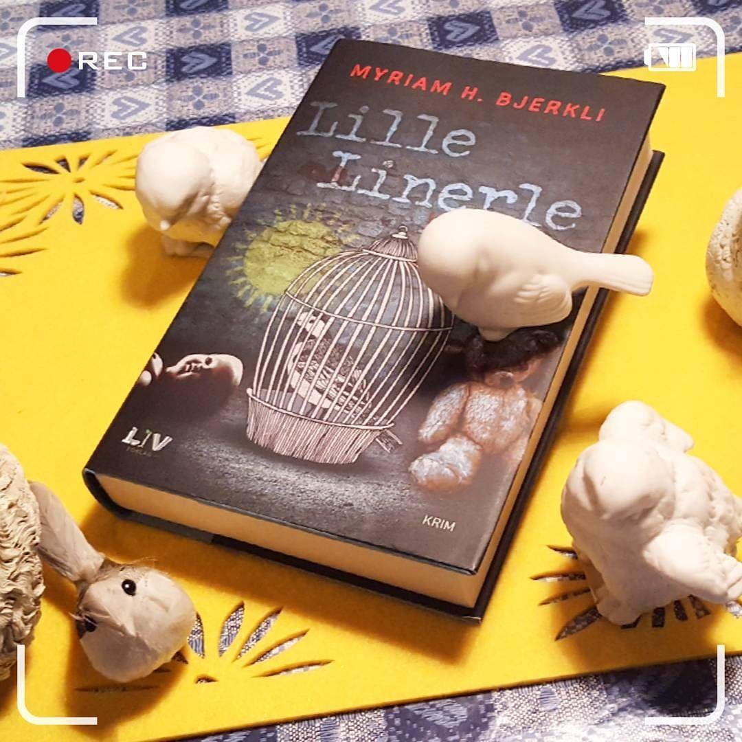 Lille Linerle av Myriam Bjerkli #lillelinerle @myriambjerkli #kriminalroman #krim #lesetips #leselyst #boktips #bøker #bookstagram