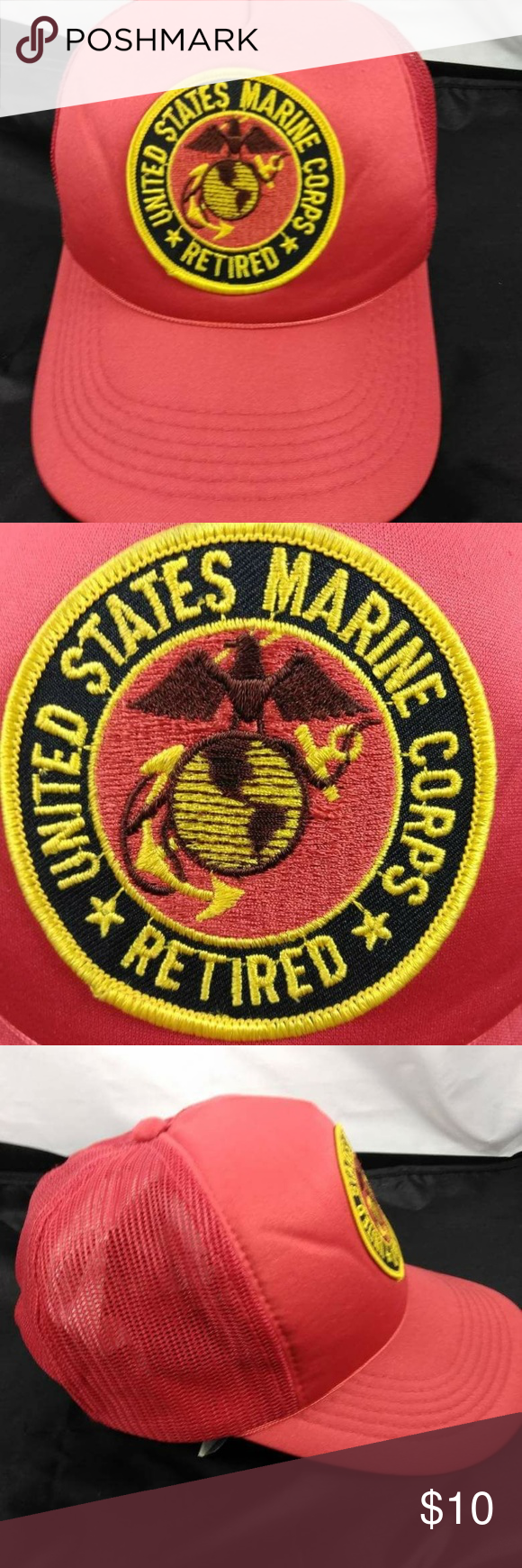 8f0b97d59f6 VTG Retired USMC YoungAn Hat Co. Snapback in 2018