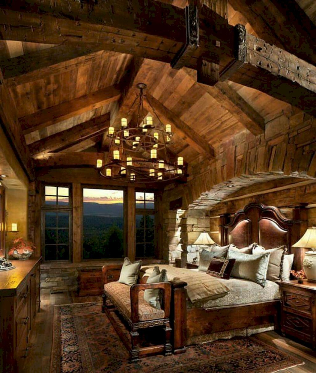60 Cozy Rustic Master Bedroom Decorating Ideas