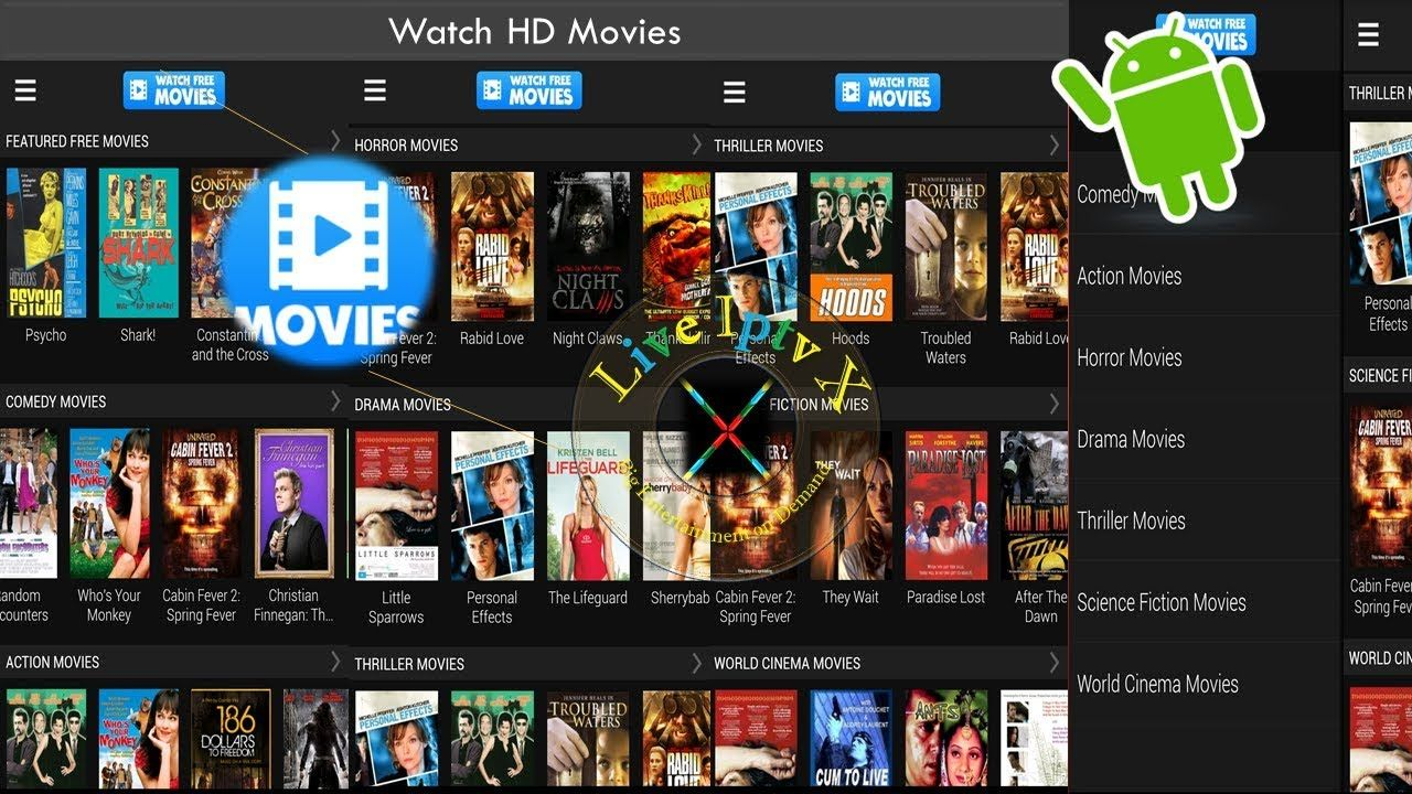 For Android Free Movies Streaming in Full HD With