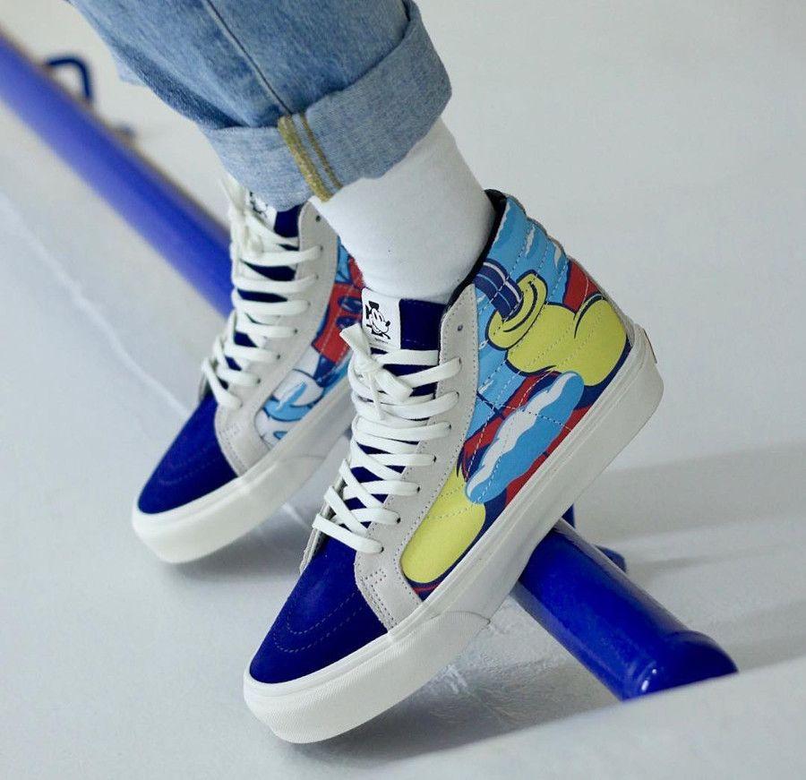 chaussure femme vans mickey