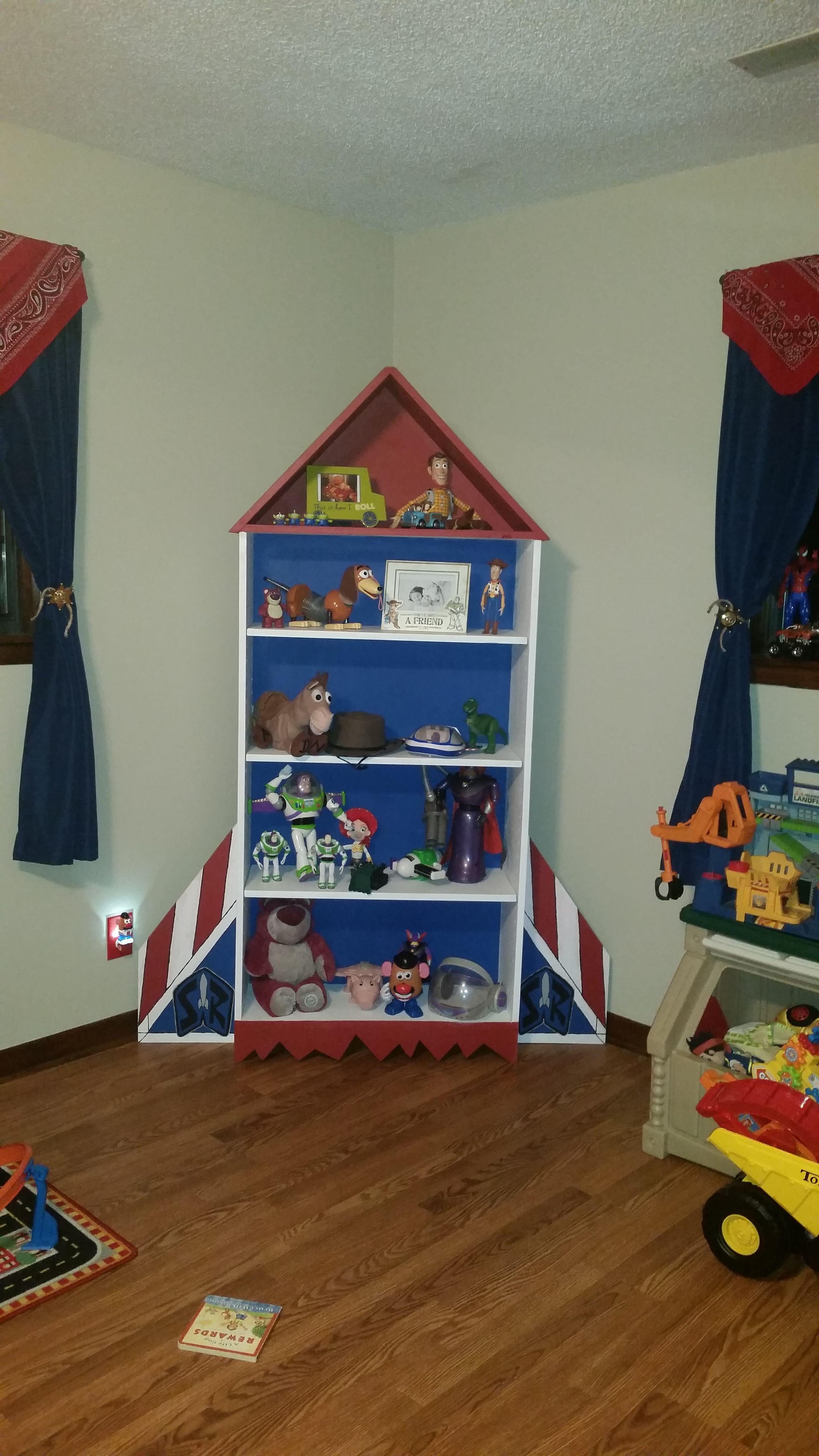 Ana White Buzz Lightyear Rocket Shelf Diy Projects Toy Story