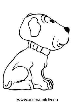 Ausmalbild Sitzende Welpe Zum Kostenlosen Ausdrucken Und Ausmalen Ausmalbilder Malvorlagen Hunde Aus Ausmalbilder Hunde Ausmalen Schlafende Welpen