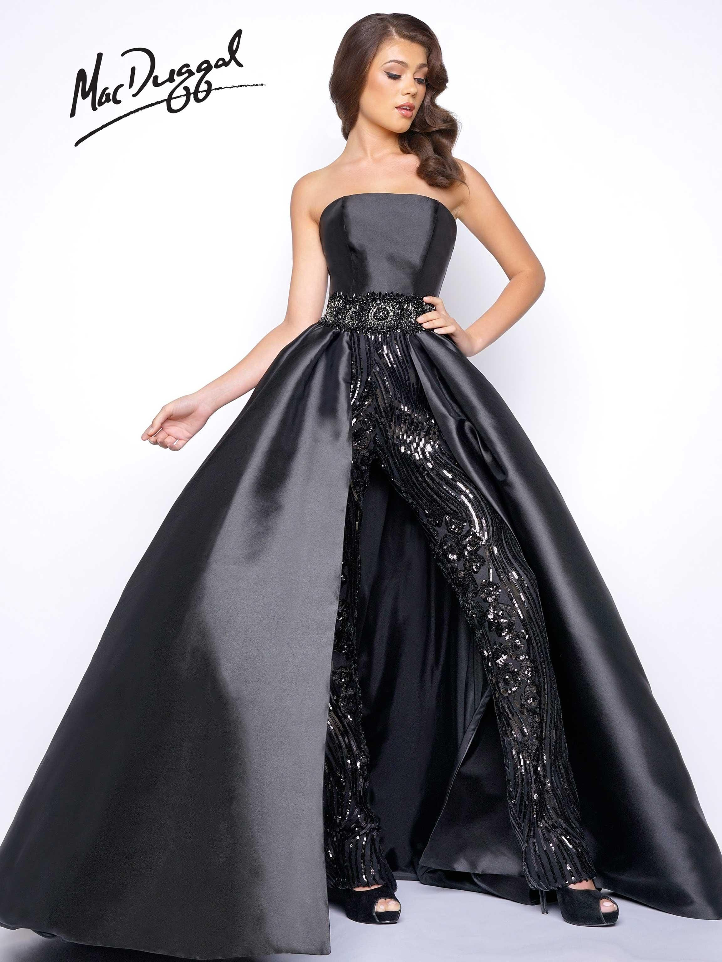 eb8c5c109e3 Mac Duggal Prom and Pageant black pants