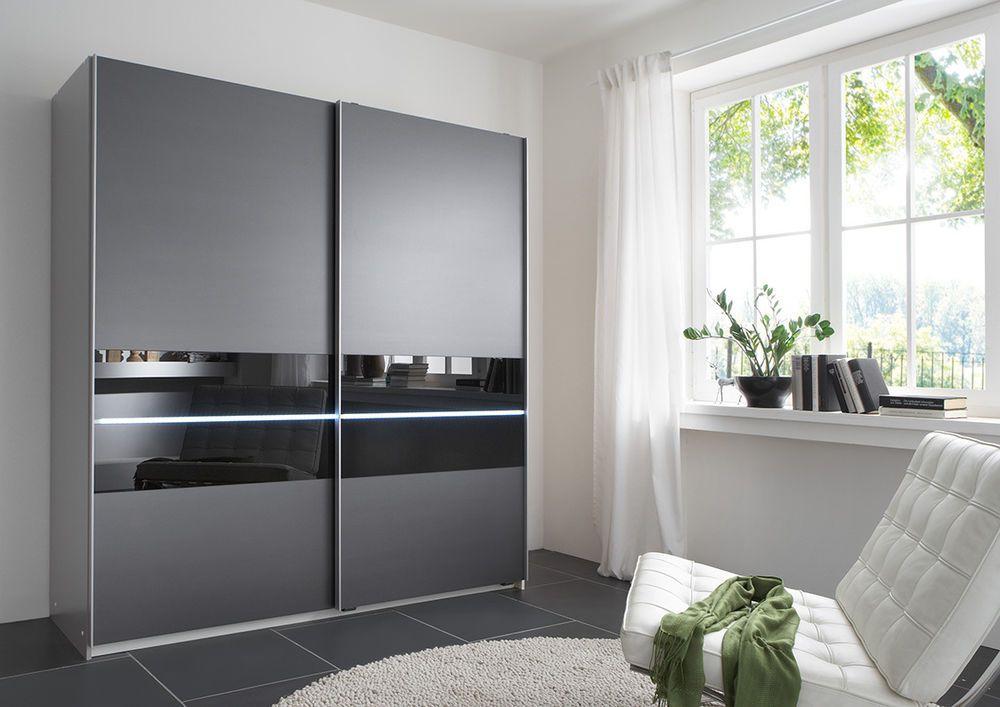 Pin by rosalia v on living room wardrobe design bedroom - Bedroom with sliding glass doors ...