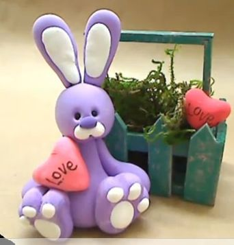 cold porcelain rabbit