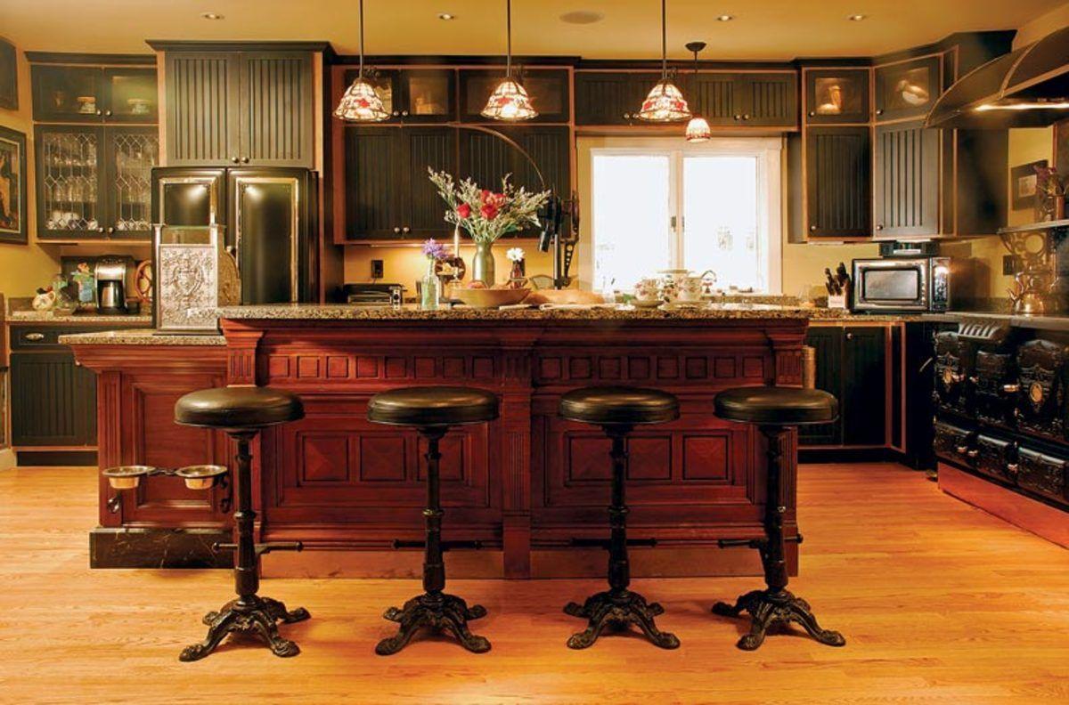 Creating A New Old Kitchen Victorian Kitchen Victorian Home Decor Victorian Kitchen Cabinets