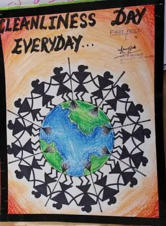 Image Result For Poster On Swachh Bharat Poster Drawing Art Logo Drawing Competition