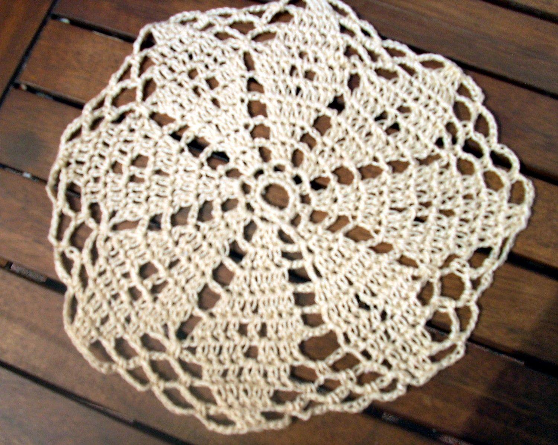 Image detail for -Handmade Round Crochet Doily Pattern | Free ...