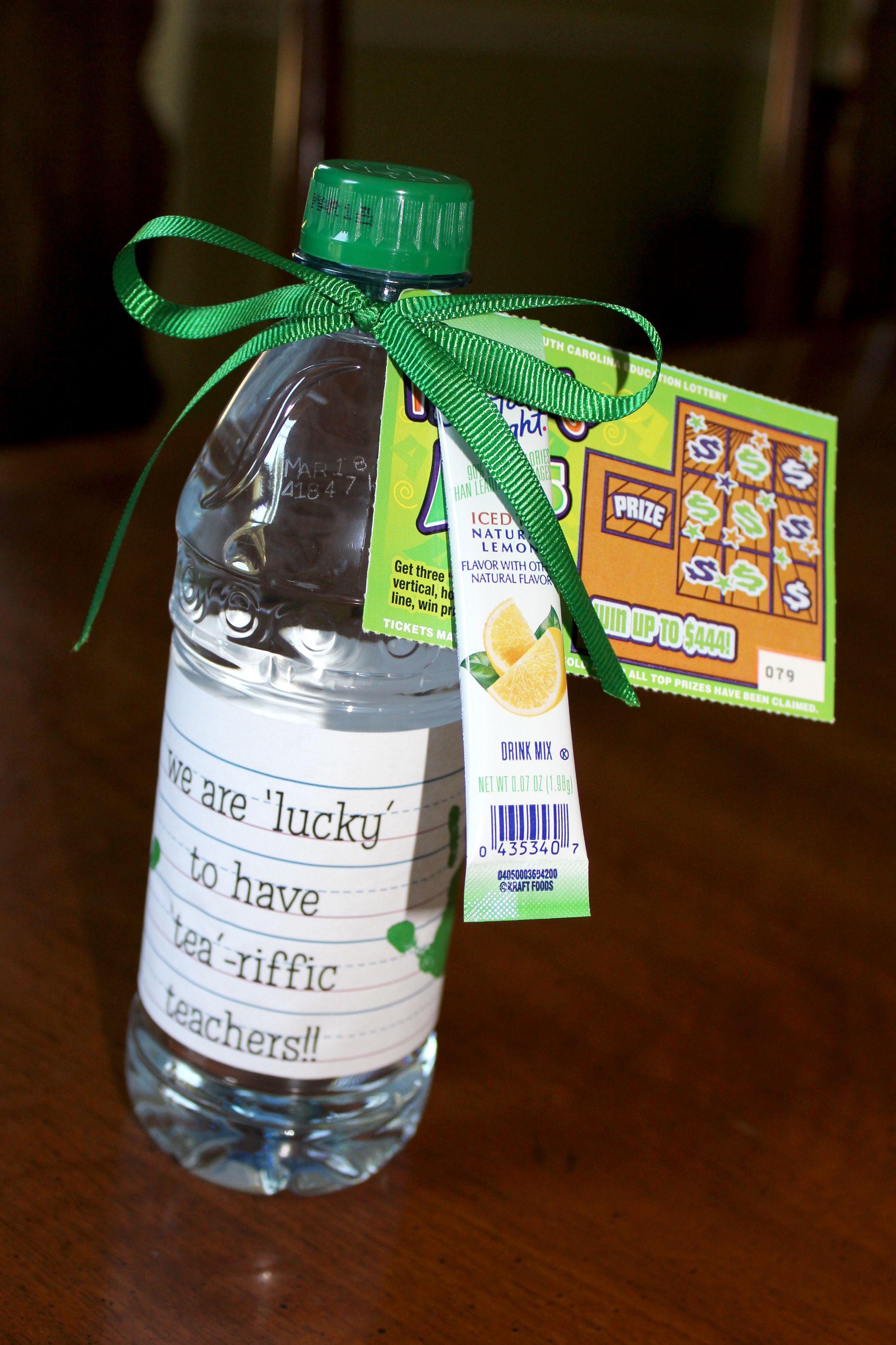 teacher appreciation water bottle ideas | just b.CAUSE