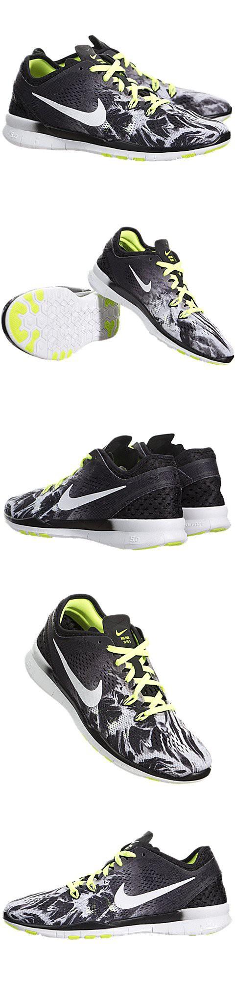 Nike Womens Free 5.0 Tr Fit 5 Print BlackWhite