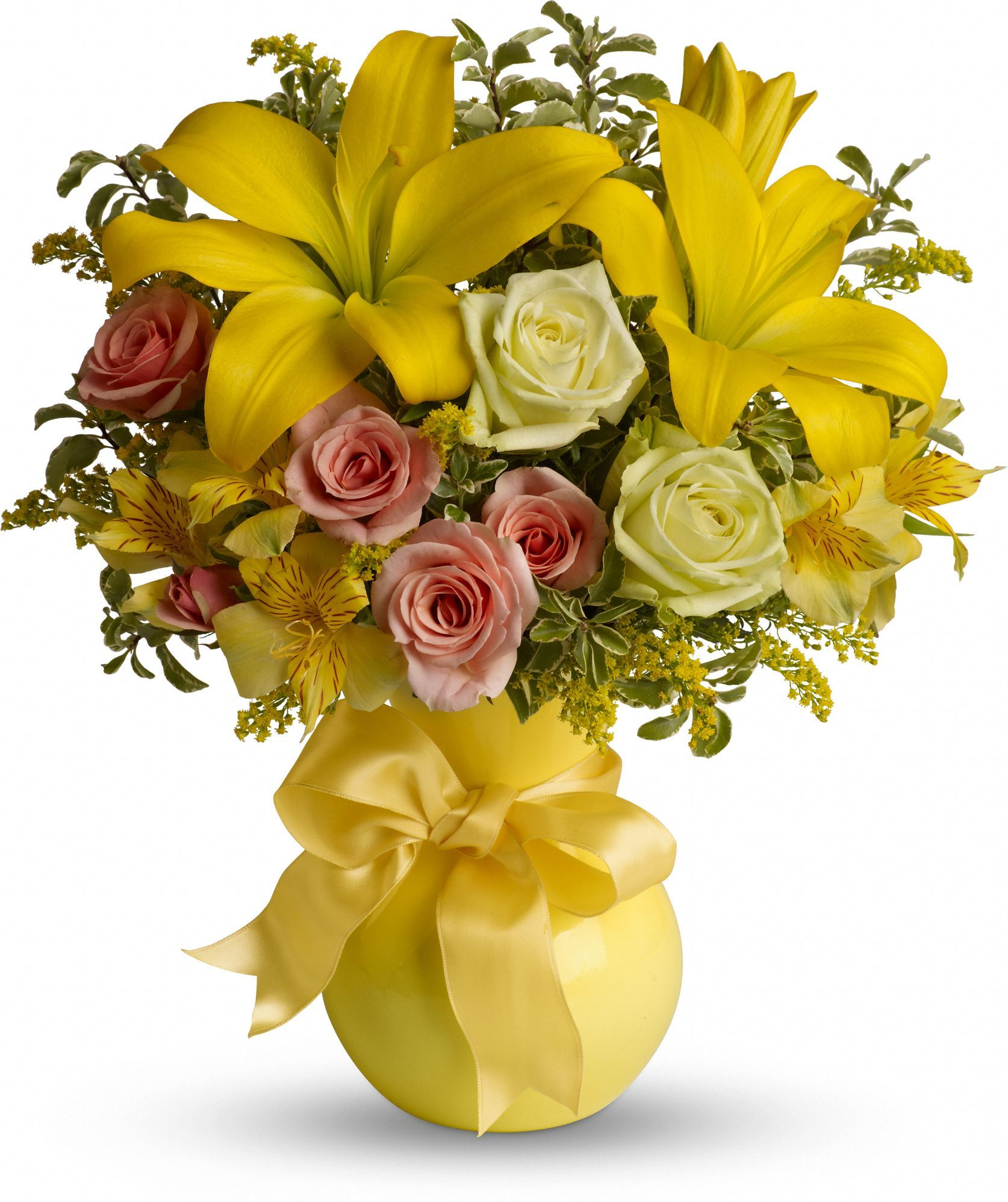 Sunny Smiles Get well flowers, Flower delivery, Flower
