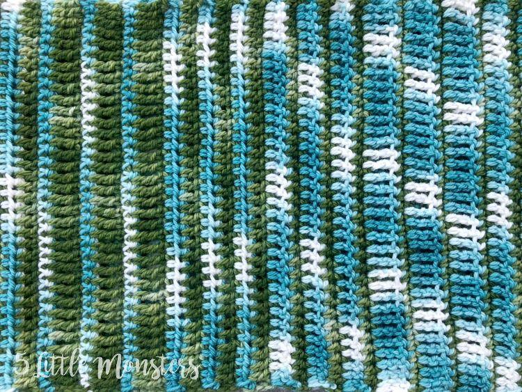Crocheted Elemental Scarf #crochetelements