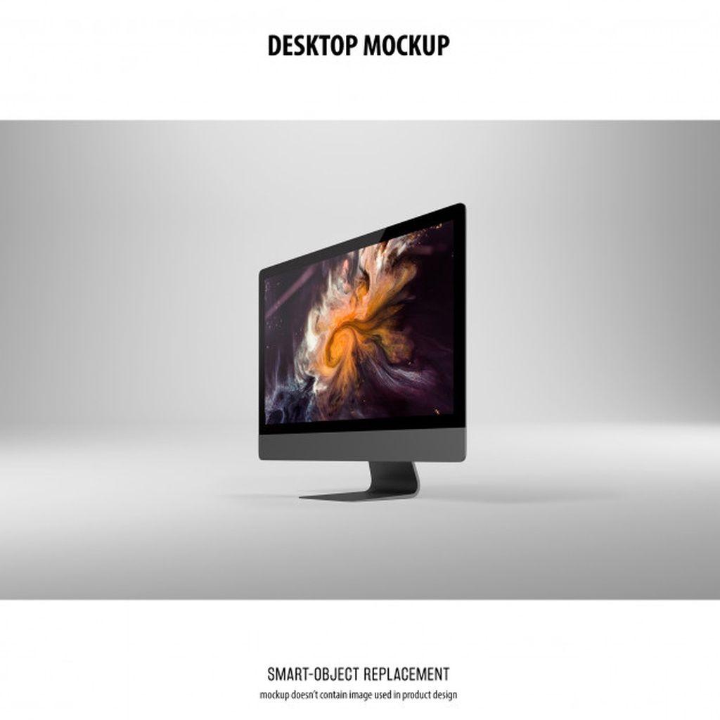 Desktop Screen Mockup Paid Affiliate Sponsored Mockup Screen Desktop Mockup Free Psd Mockup Free Mockup