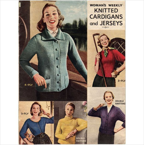 Womans Weekly Knitting Patterns Vintage Clothes Pinterest