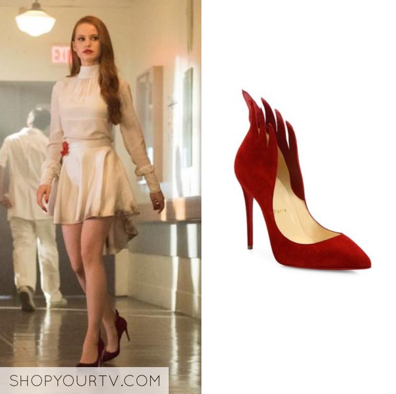 97df9ef2067 Riverdale: Season 2 Episode 1 Cheryl's Red Flame Heels   Riverdale ...