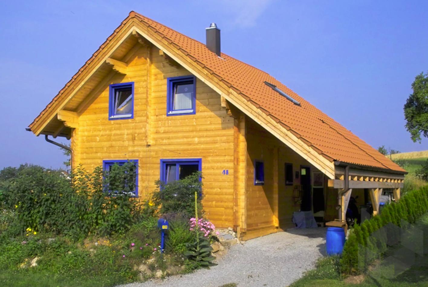 93 M Kleines Blockhaus Wolfenbruck Rems Murr Holzhaus