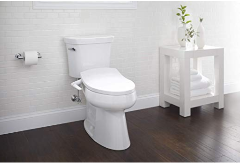 Kohler K 5724 0 Puretide Elongated Manual Bidet Toilet Seat White