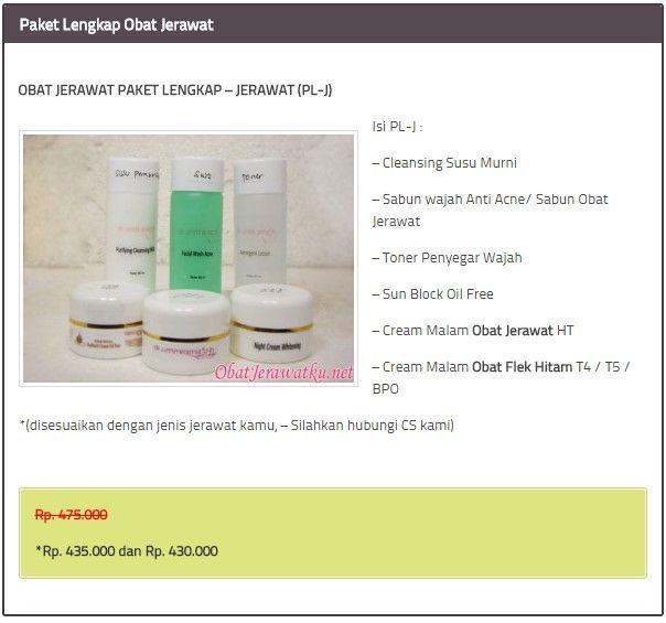 Skincare Cream Penghilang Bekas Hitam Jerawat Dengan Cepat