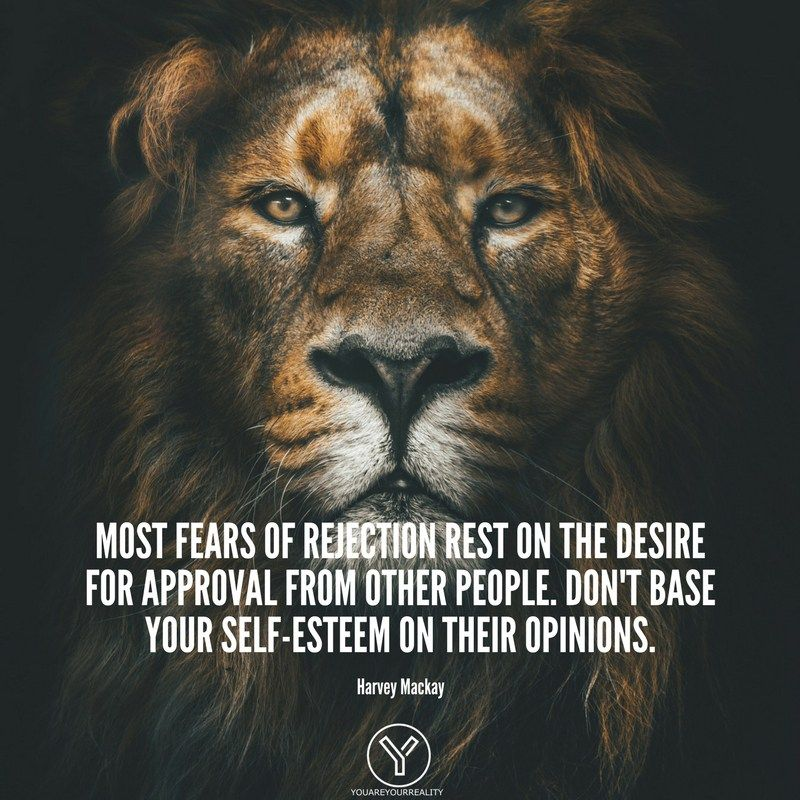 14 Fear Of Rejection Quotes To Push You Forward | You Are Your Reality