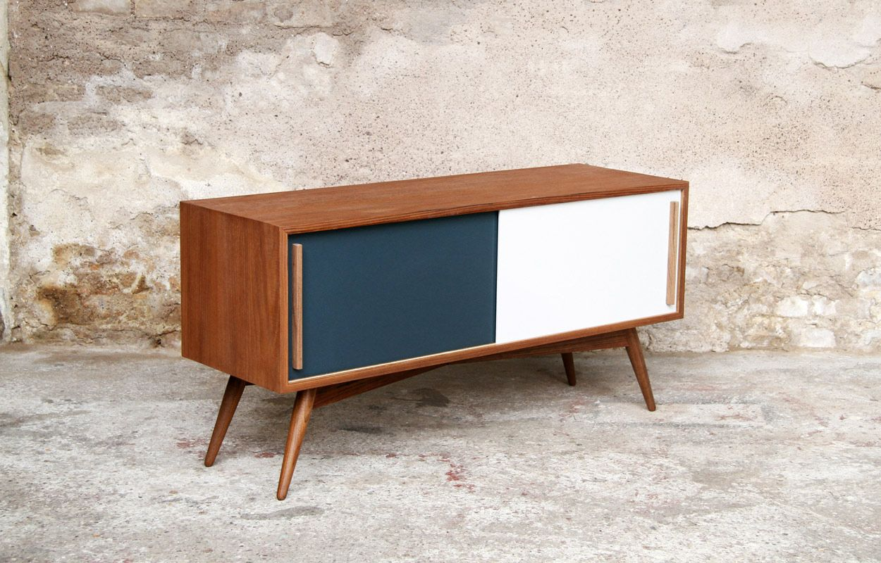 Fabriquer Meuble Tv Scandinave Meuble Tv Bas Style Scandinave Sur Mesure Made In France