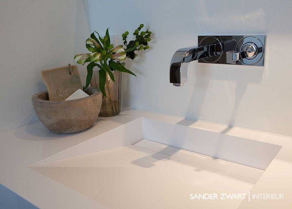 Badkamermeubel Op Maat : Badkamermeubel op maat sander zwart interieur interrior