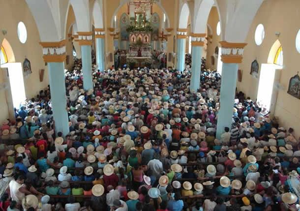 Missa do chapéu na Igreja da Matriz - Juazeiro do Norte, Ceará