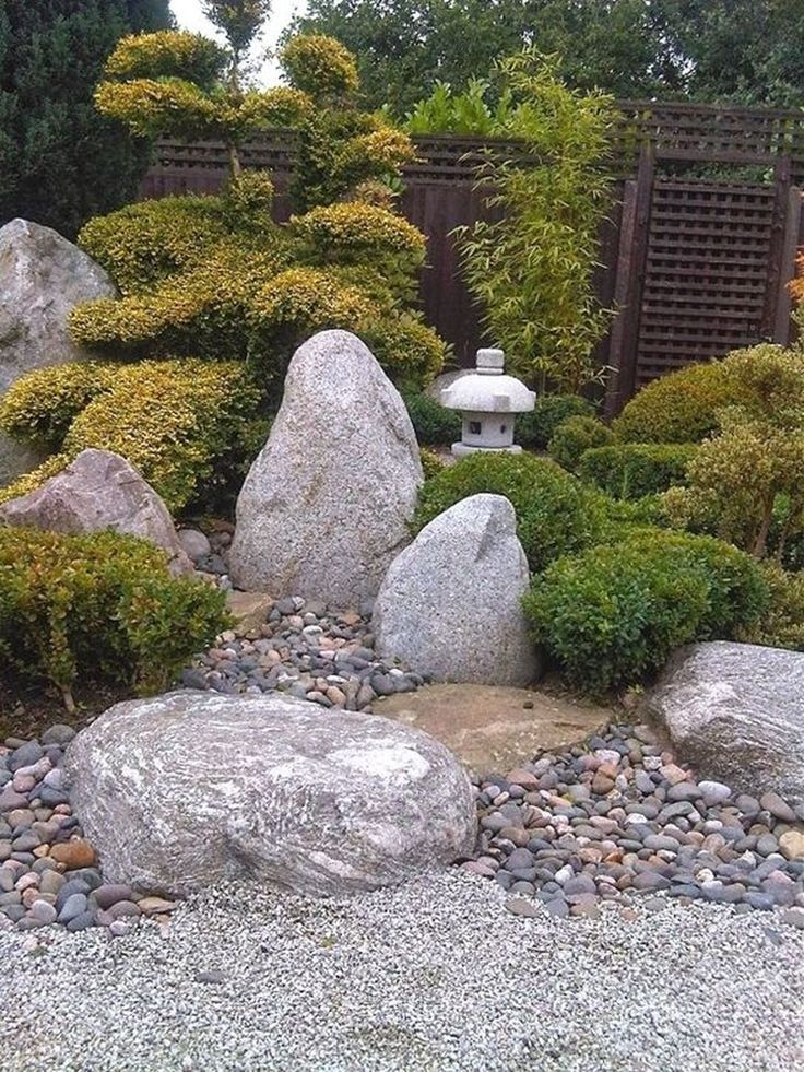 41 Relaxing Modern Rock Garden Ideas To Make Your Backyard Beautiful - 41 Relaxing Modern Rock Garden Ideas To Make Your Backyard Beautiful #steingartenideen