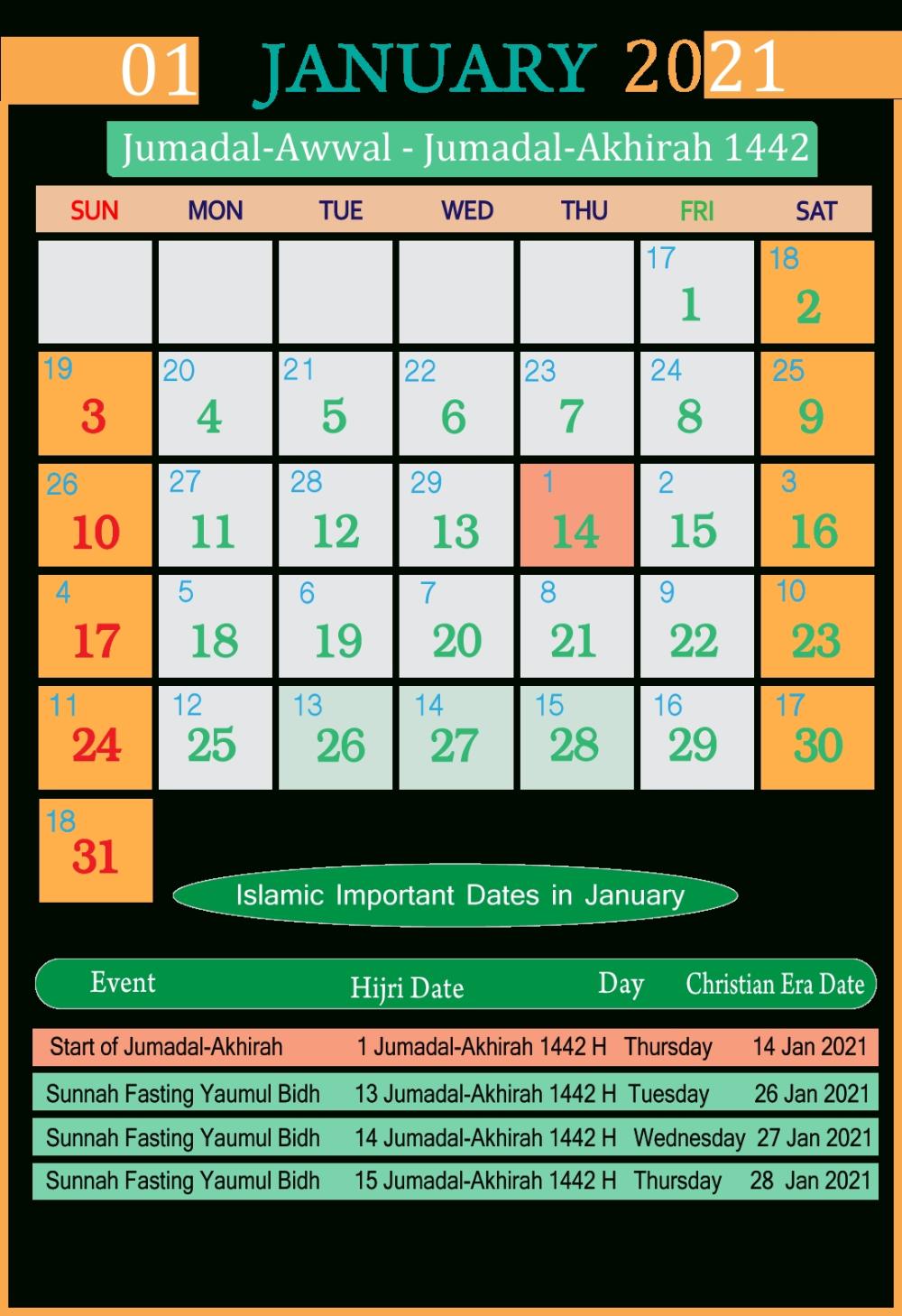 Islamic Calendar 2021 Pdf Free Seg Make It Calendar Printables Calender Print Calendar