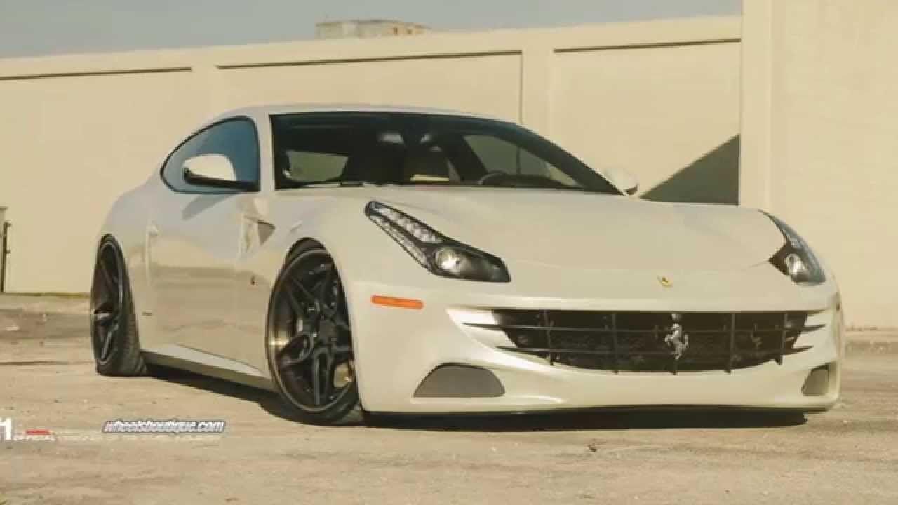 Ferrari FF on ADV.1 Wheels