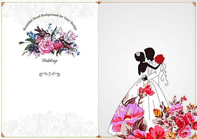 Pin By وفاء ورده On إطارات Wedding Invitation Vector Indian Wedding Invitation Cards Floral Wedding Invitations