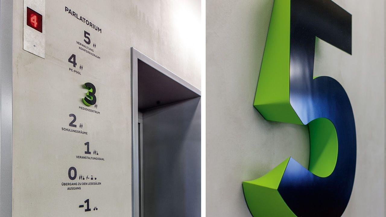 Gourdin Müller Wayfinding Signage Design Orientation System