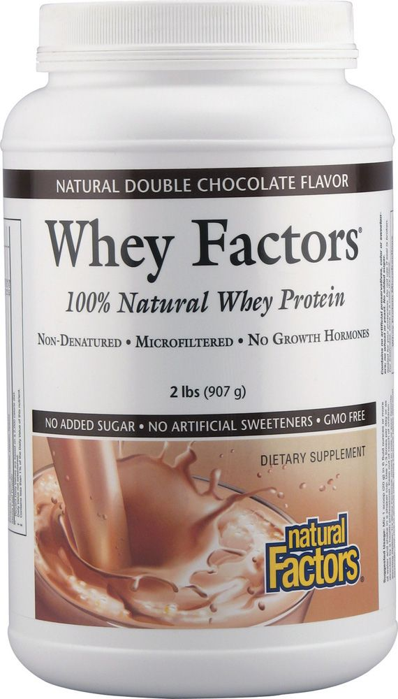 41aa608c7a659 Natural Factors Whey Factors® Double Chocolate -- 2 lbs ...