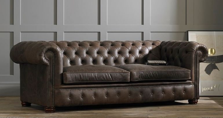 London Chesterfield Sofa Bed | Living Room/Office in 2019 ...
