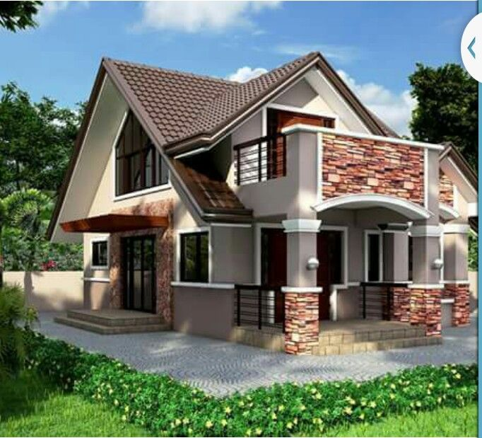 House With Attic Modern Bungalow House Bungalow House