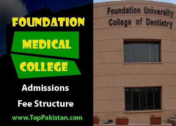 Foundation Medical College Islamabad Admissions And Merit Lists Medical College College Medical