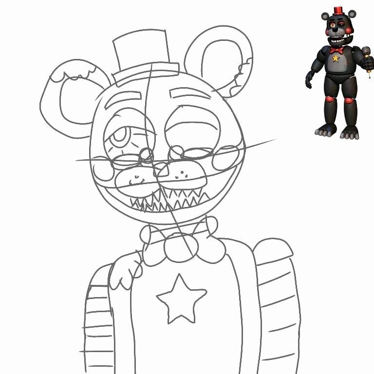 24 Five Nights At Freddy S Coloring Page Coloring Pages Fish